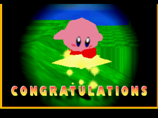 Super Mario 64 - Kirby Edition - thats not right? - User Screenshot